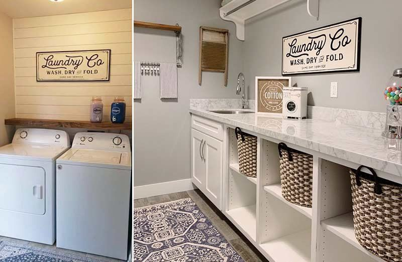 Metal Laundry Co Sign In 2020 Laundry Room Design Laundry Room Pantry Laundry Room