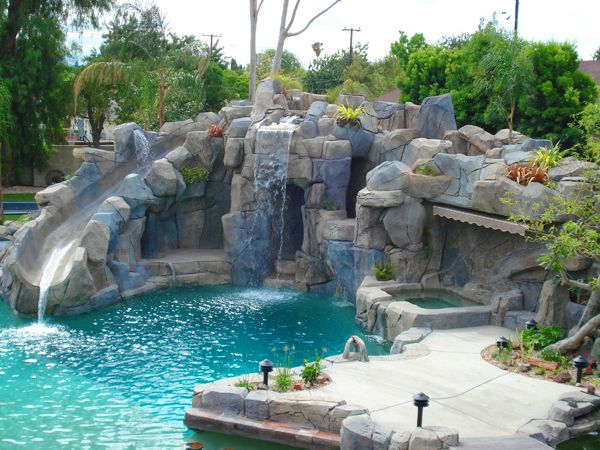 Awesome pool take me to neverland pinterest piscinas - Piscinas rusticas ...