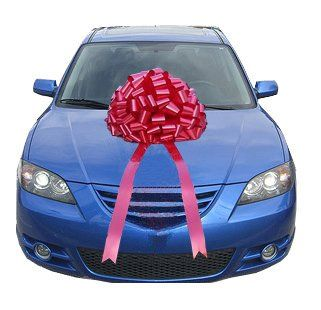 Giant Red Car Bow Large Gift Bows http://www.amazon.com/dp ...