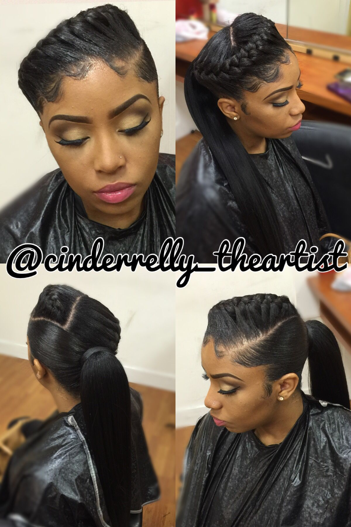 underbraid and ponytail | cinderrelly theartist | braids for