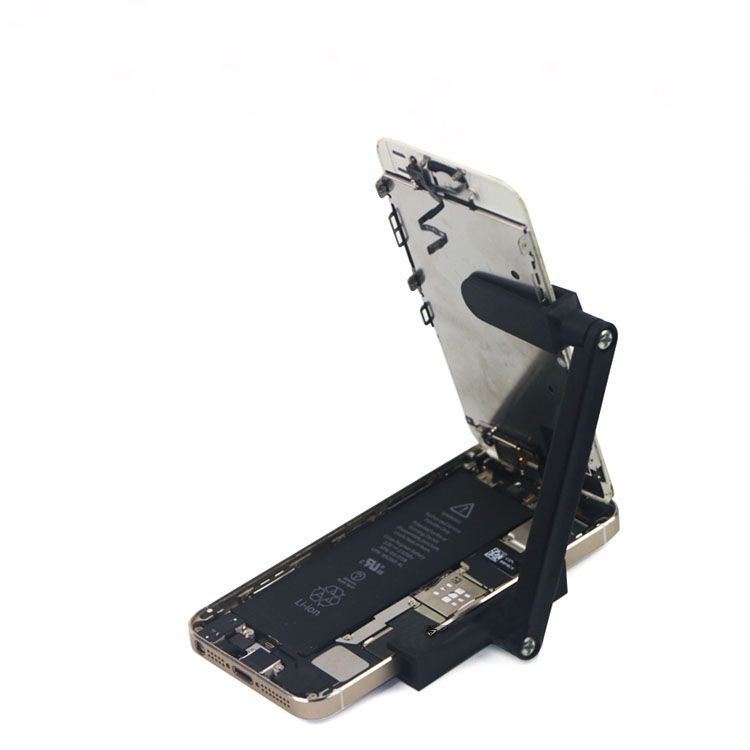 adjustable phone repair holder with rotatable fixing clamp portable rh pinterest com