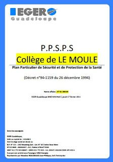 Modèle Ppsps électricité Exemple Concret De Modèle De Ppsps