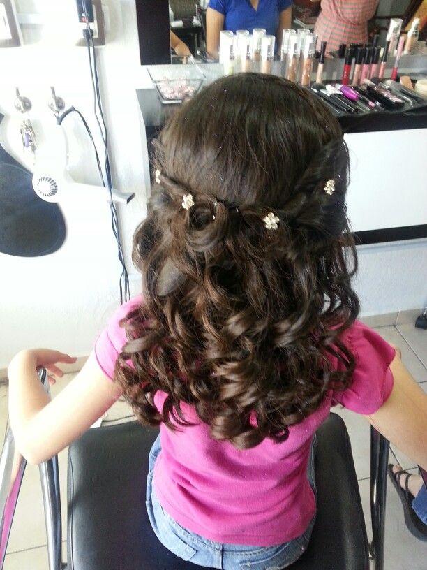peinado de niña | niñas | pinterest | peinados de niñas, peinados