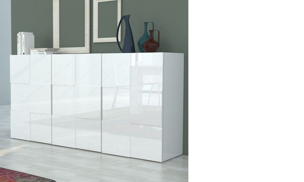 Buffet Blanc Laqué Design Betty | Units | Pinterest | Buffet And