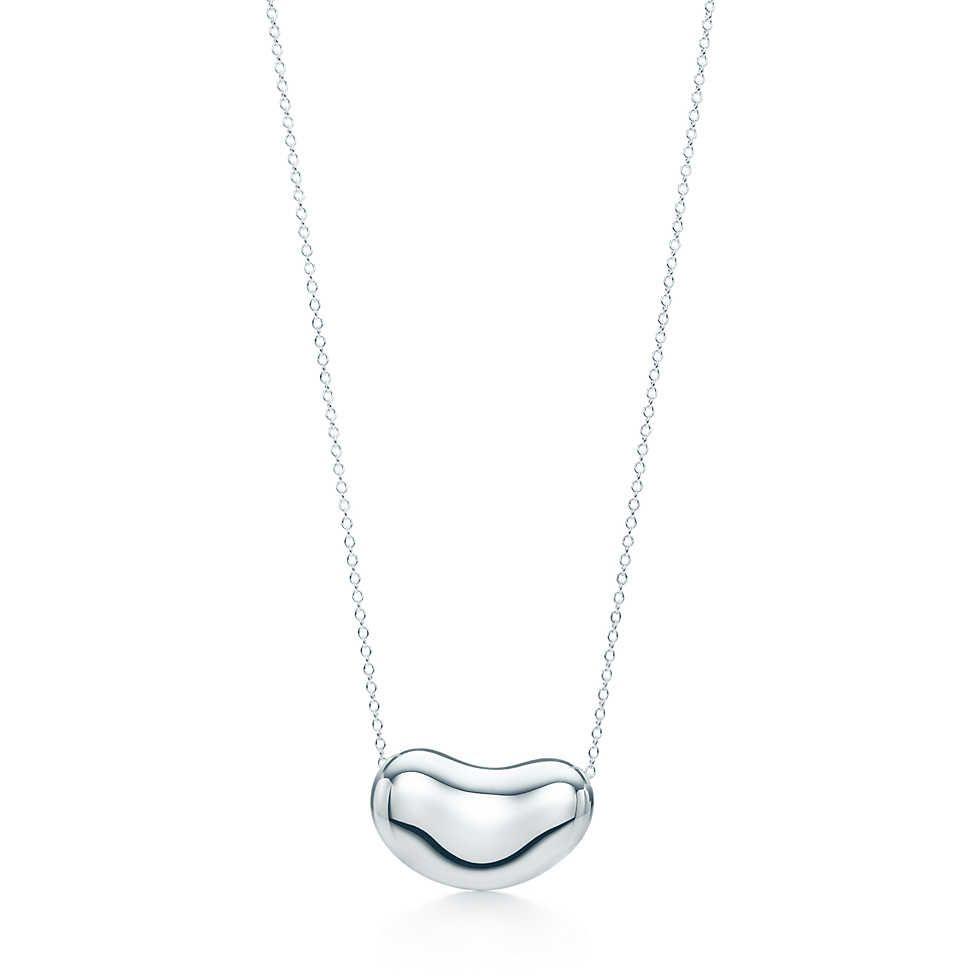 Elsa Peretti Bean Pendant In Sterling Silver Tiffany Co