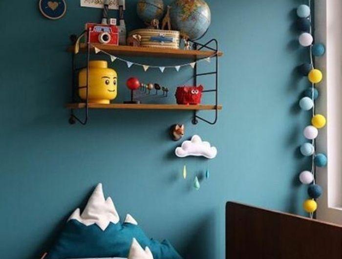 1001 Idees Creer Une Deco En Bleu Et Jaune Conviviale Deco Chambre Garcon Deco Chambre Bebe Et Couleur Chambre Garcon