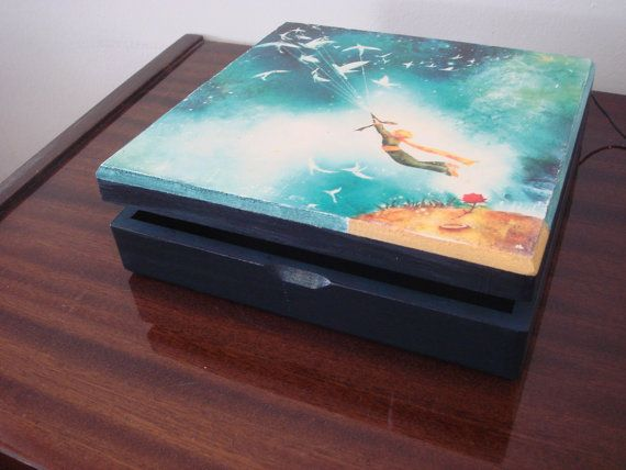 The Little Prince Handmade Decorative Box by glgn on Etsy