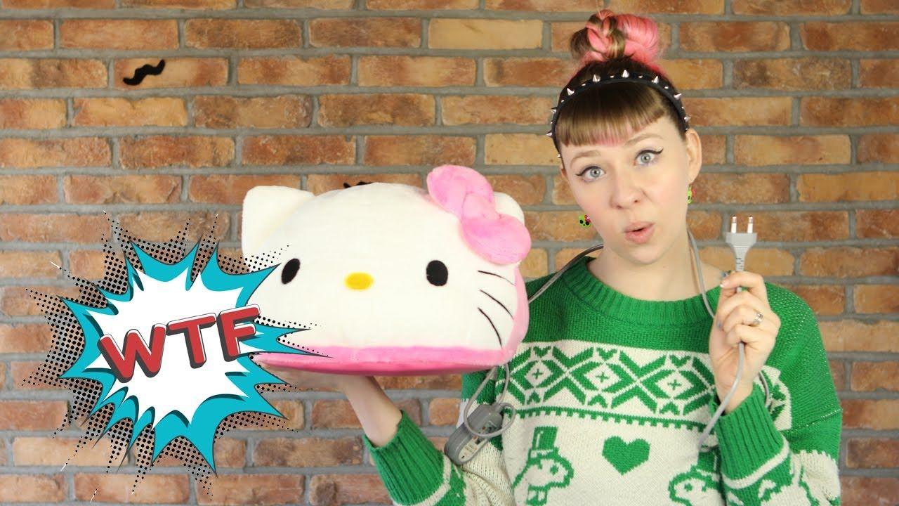 WTF - Hello Kitty Foot Warmer