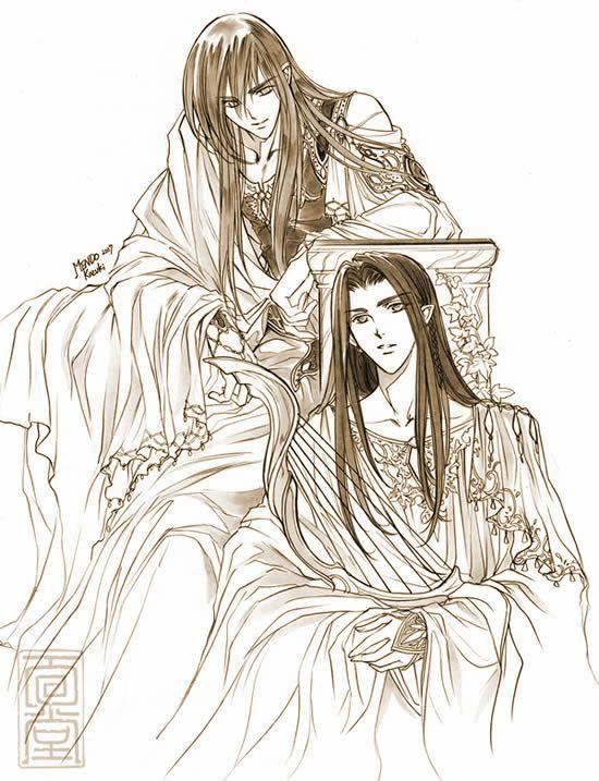 Fingon and Maedhros by Kazuki-MENDOU.deviantart.com on @deviantART ...