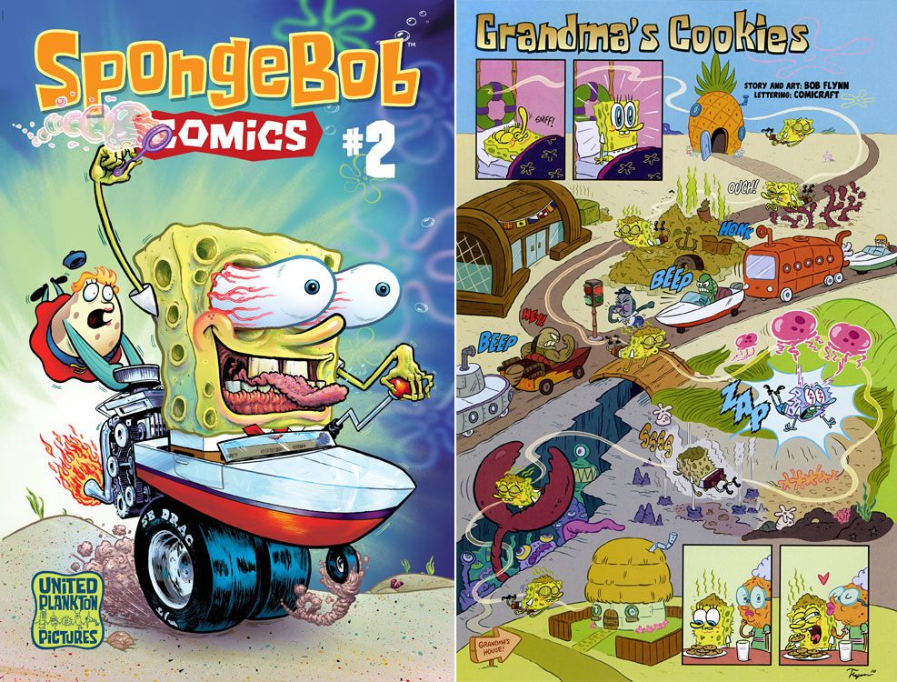 Sponge Bob Comics