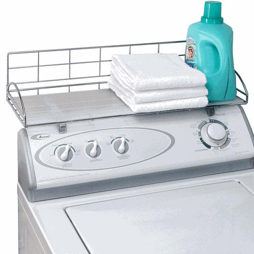 Over Washer Laundry Storage Shelf For