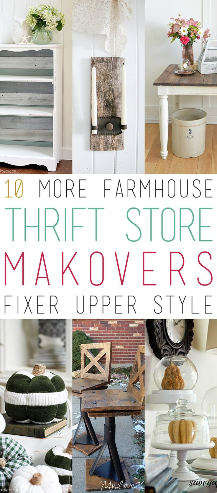 You Are Going To Love These Fabulous Thrift Find Makers With The Fixer Upper Style Enjoy