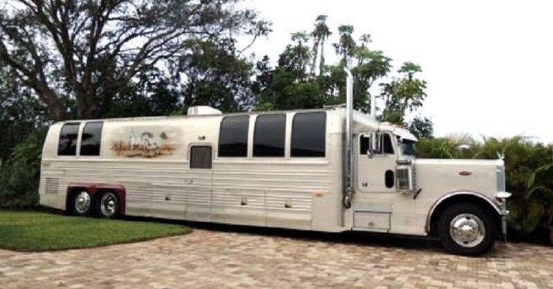 Original Big Rig Motorhome Peterbilt For Sale Peterbilt Trucks Big Trucks