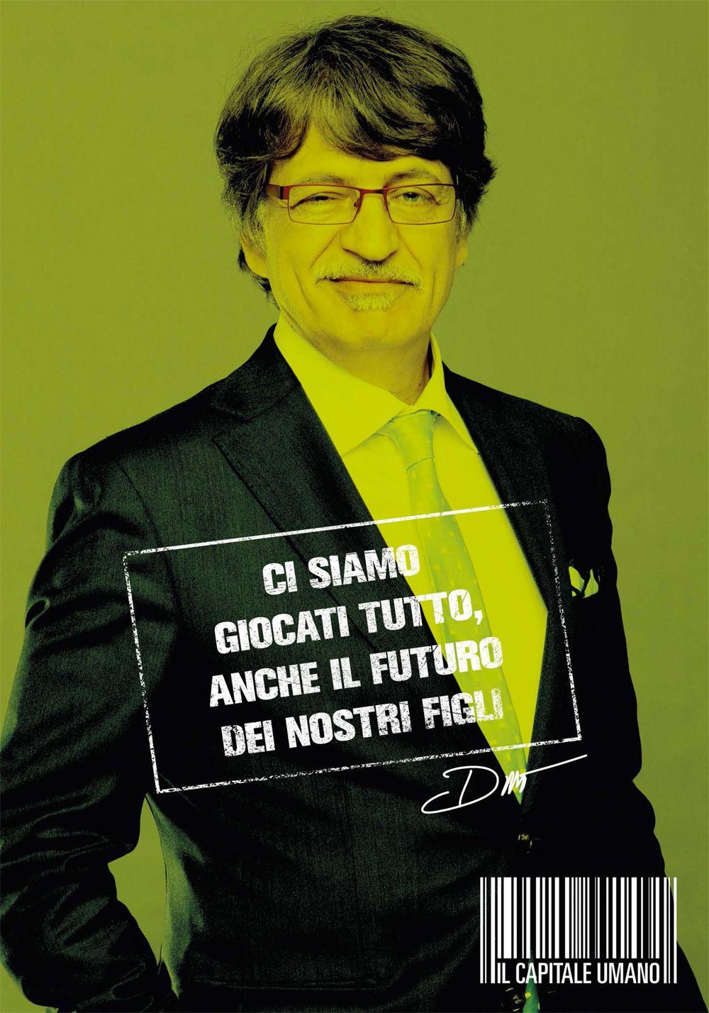 """EPOS Eyewear con """"Il Capitale Umano"""" di Paolo Virzì! Fabrizio Bentivoglio indossa il modello Fox Trot della linea Chorus Line. #EposCelebs #Cinema"""