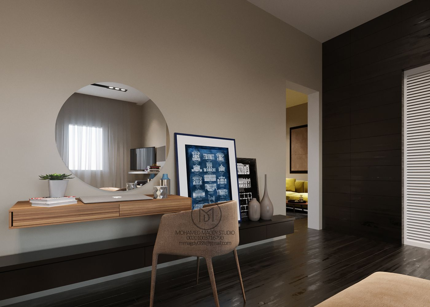 CONTEMPORARY DESIGN FOR BEDROOM on Behance