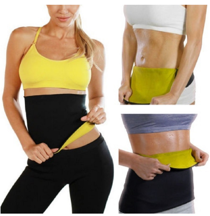 Yoga Slim Fit Waist Trainer Belt Cinchers Fat Burner Body Shapers Girdle Corset