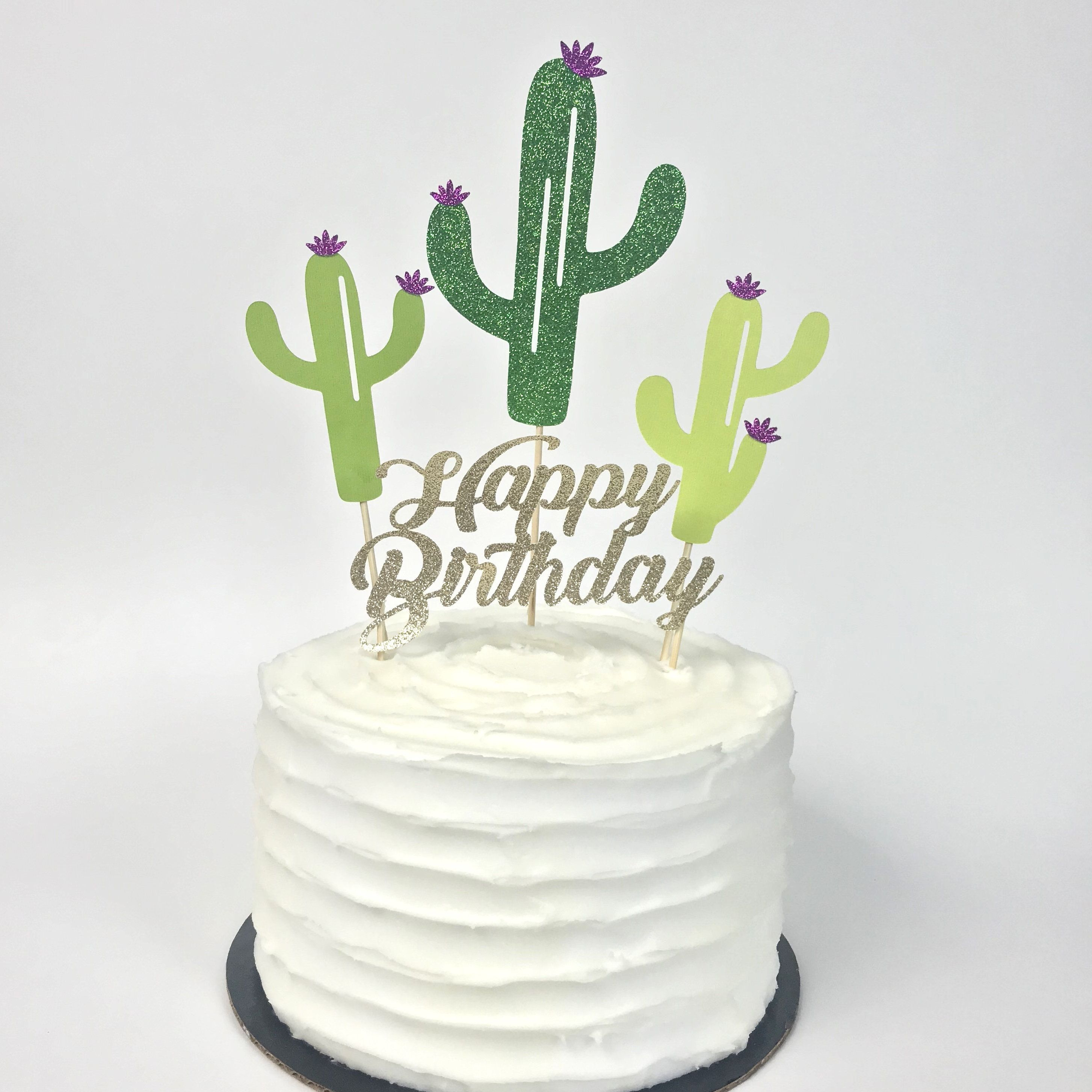 Double name or Twin flower Birthday Cake Topper any name and age cake decoration