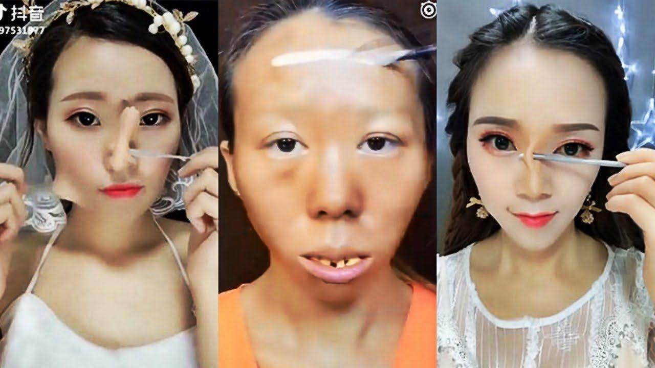 best viral asian makeup transformations 2018 😱 asian makeup