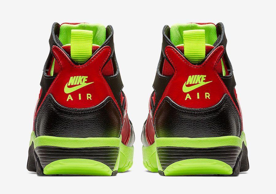 Nike Air Trainer Huarache Black Volt Red 679083 020 SBD