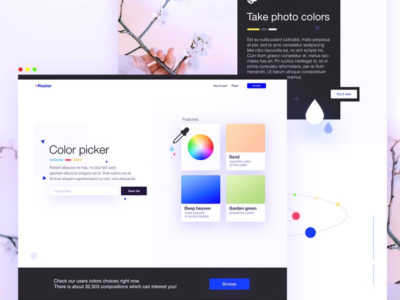 Color Picker Website