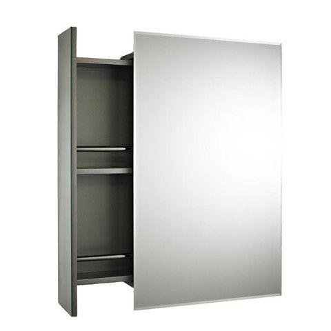 With An Interesting Opening Mechanism This Certainly Would Be A Useful Addition To Any Bathroom Mirror Cabinets Cabinet Bathroom Mirror Cabinet