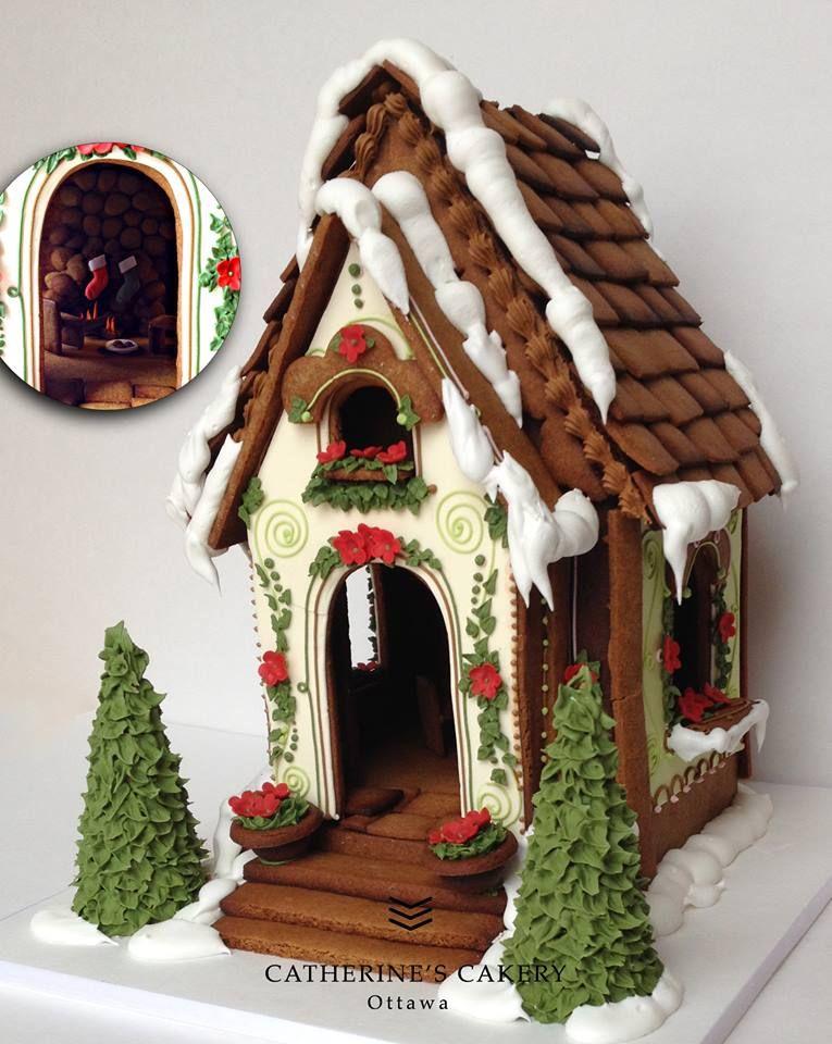 gingerbread house cookie house Пряничные домики Pinterest