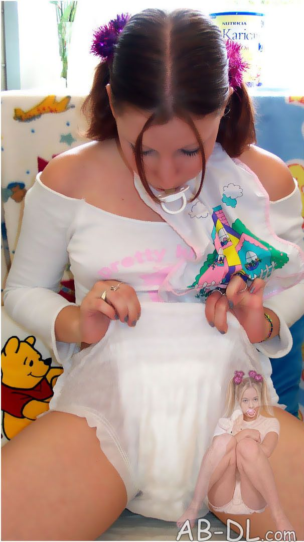 "adultbabies: ""Adult Baby Girl Adult Baby & Diaper Lover (ABDL) Diaper Girl  from AB-DL.com """