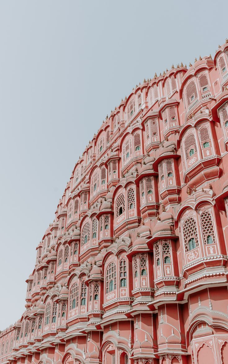 Photo of The pink architecture of Jaipur India