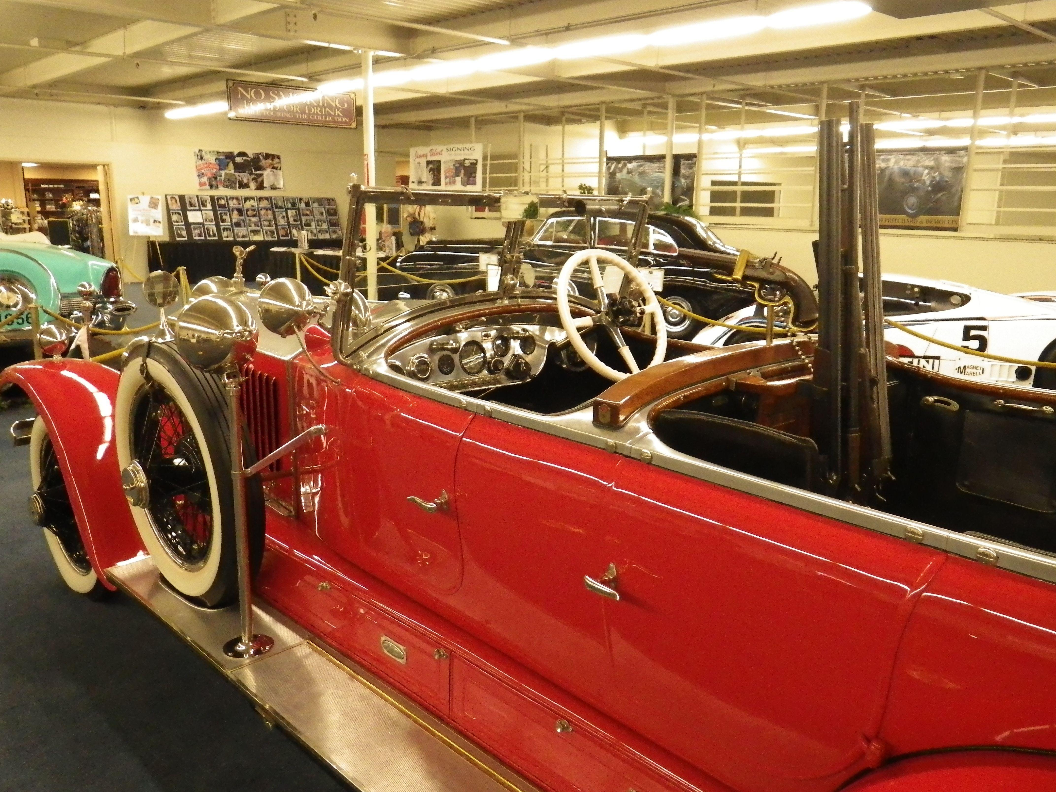 Rolls Royce Phantom I torpedo Barker 1925 (Las Vegas 2013)