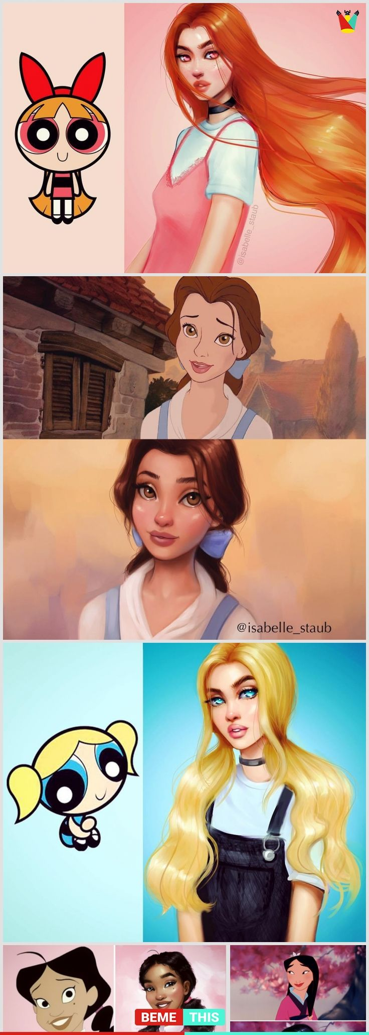 Artist Recreates Famous Cartoon Characters And The Results Are Amazing With Images Famous Cartoons Disney Art Disney Drawings