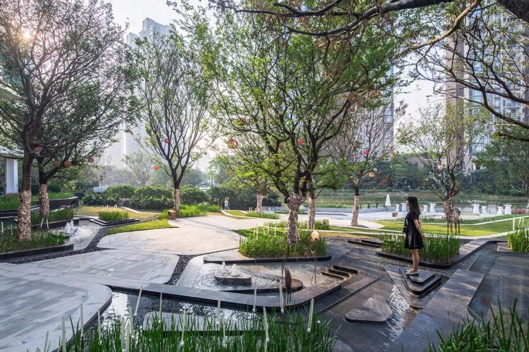 Pin by Bin Liu on 景观示范区 (With images) | Landscape design ...