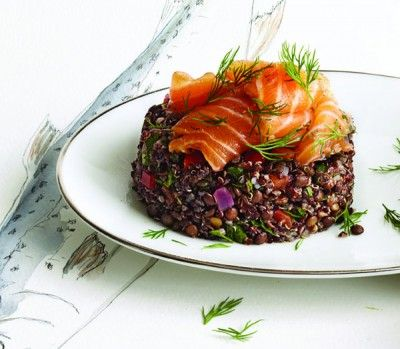 Salmon and lentil pilaf superfood recipe superfood recipes salmon and lentil pilaf superfood recipe superfood recipes lentils and superfoods forumfinder Image collections