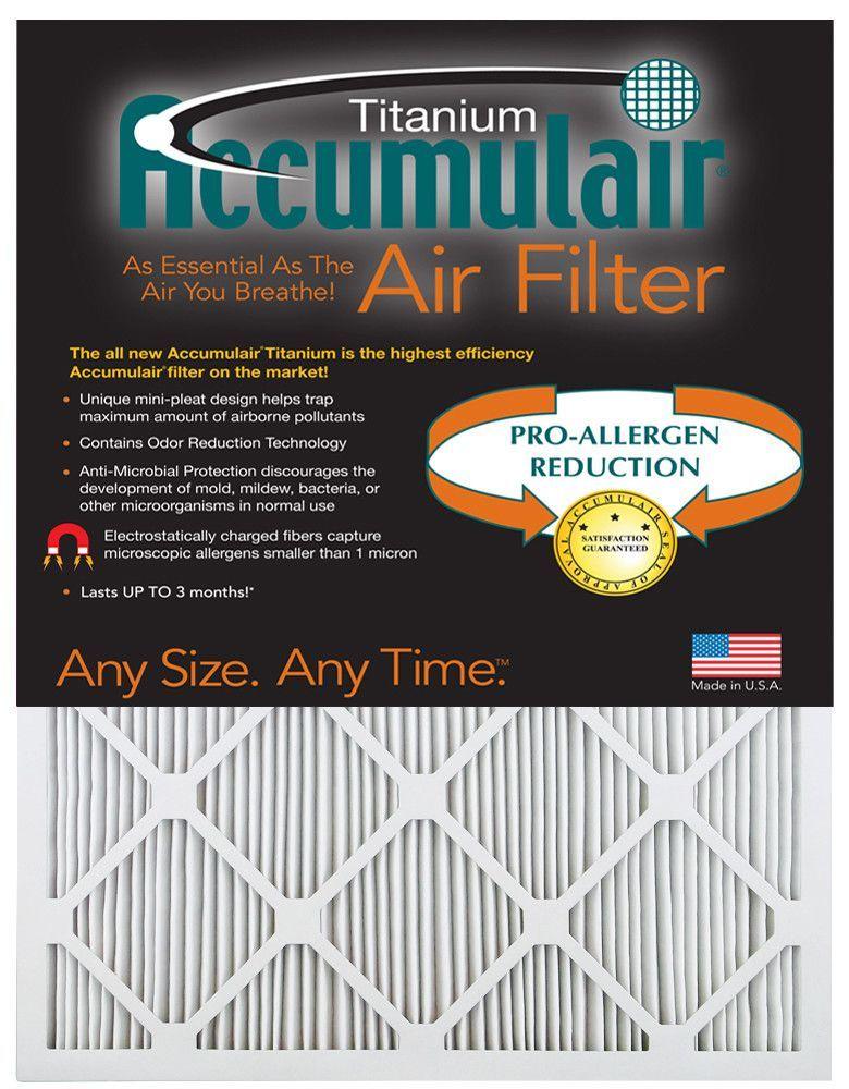 Titanium Air Filter