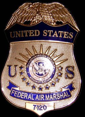 U.S. Federal Air Marshal   LE badges   Badge, Fire badge ...