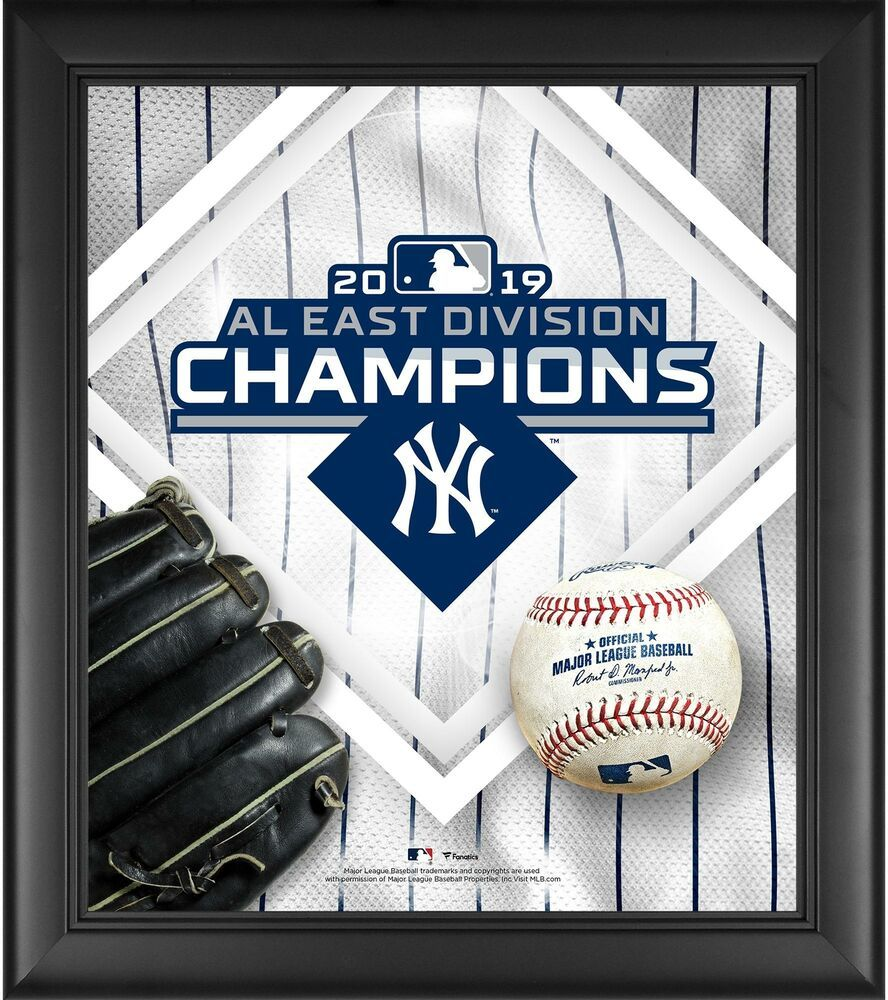 Details About New York Yankees Framed 15 X 17 2019 Al East Division Champions Collage New York Yankees Yankees Merchandise Yankees Fan