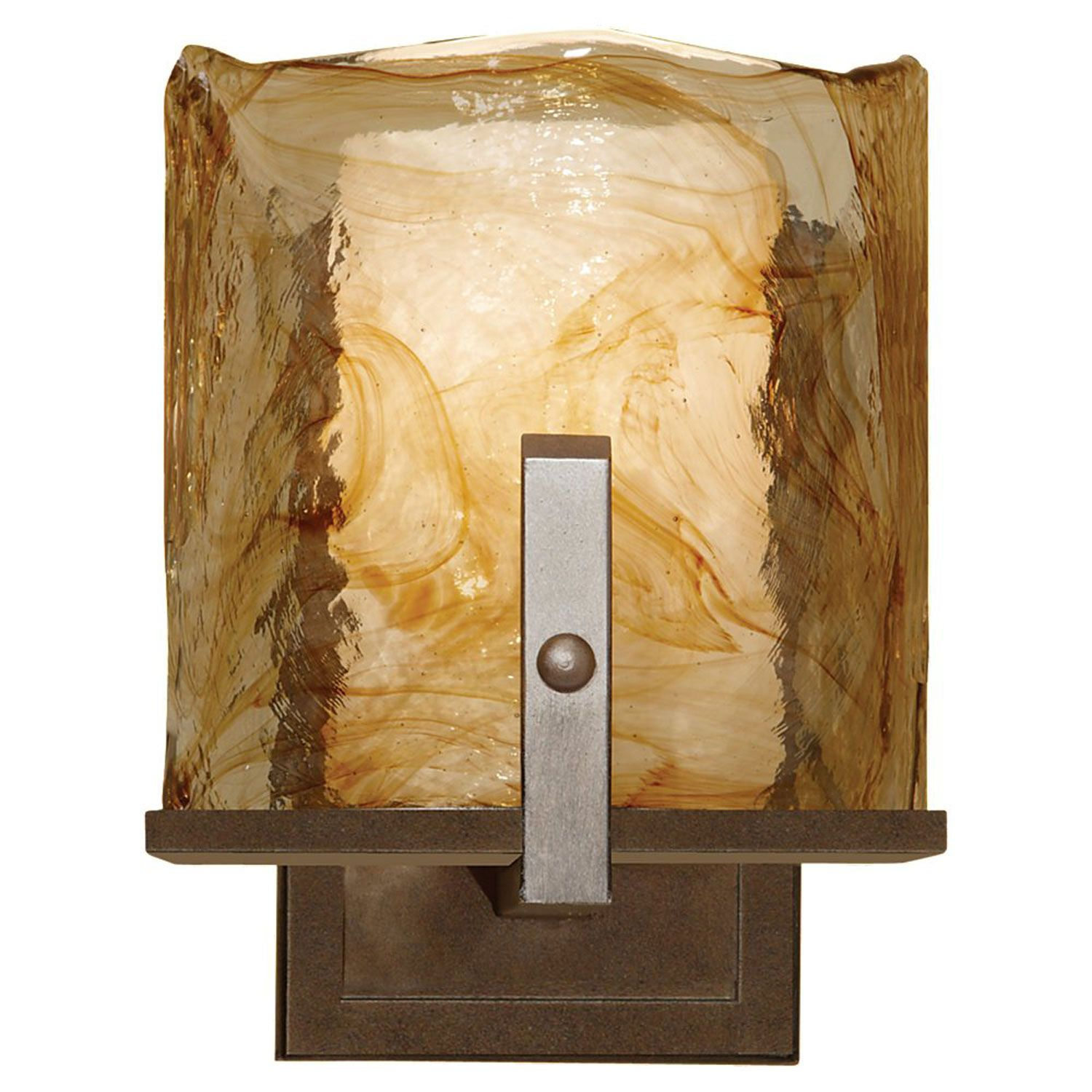 Feiss Aris Roman Bronze One-Light Wall Sconce   Wall sconces and ...