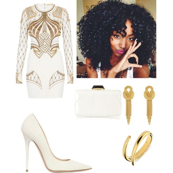 137011d611e1 All White and Gold New Years Outfit Idea | Style and Grace | New ...