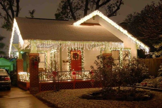40 Stunning Outdoor Christmas Lights Decorations Christmas