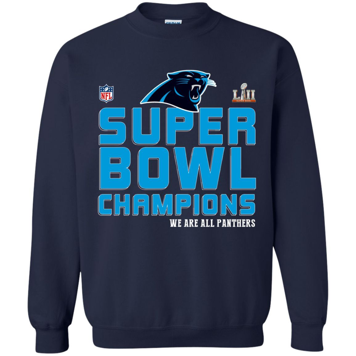 panthers super bowl champions shirt