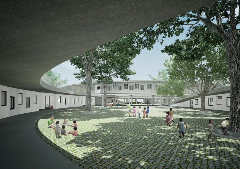 farming kindergarten in vietnam by vo trong nghia