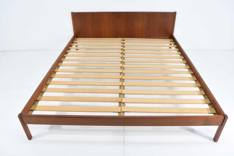Best Danish Teak Oversized Queen Bed Frame For Sale At 1Stdibs 400 x 300