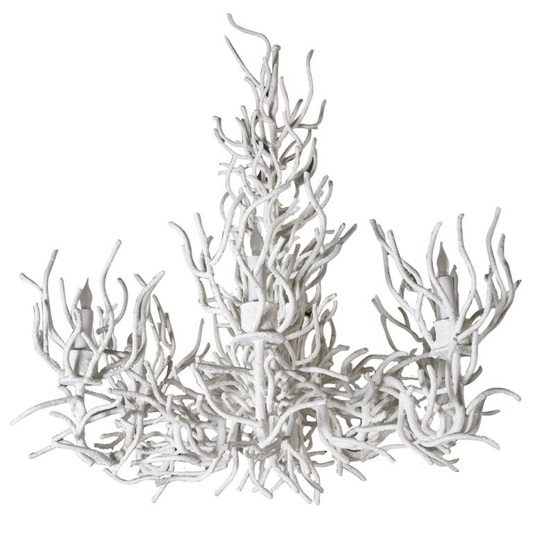 Large faux coral chandelier chandeliers pendant lighting and lights large faux coral chandelier aloadofball Gallery