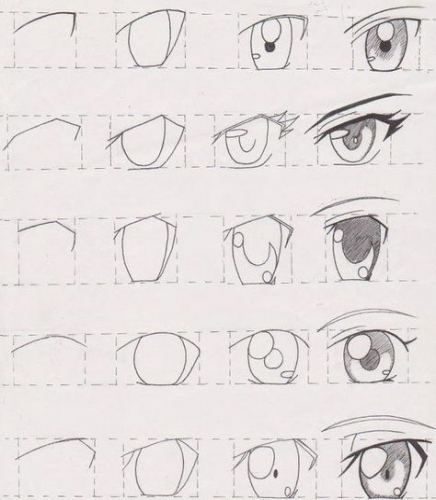 Drawing Anime Eyes Step By Step How To 26 Super Ideas Anime Eye Drawing How To Draw Anime Eyes Anime Drawings