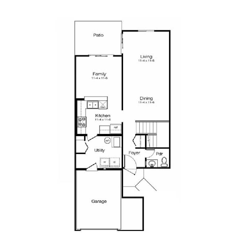 Snmb1 5 Lincoln Military Housing Military Housing Floor Plans