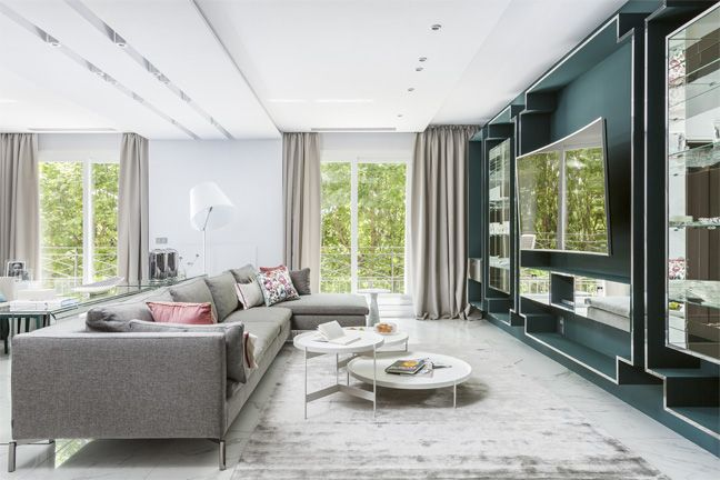 Simple belle nouvelle un appartement au style moderne et clectique paris with belle maison paris