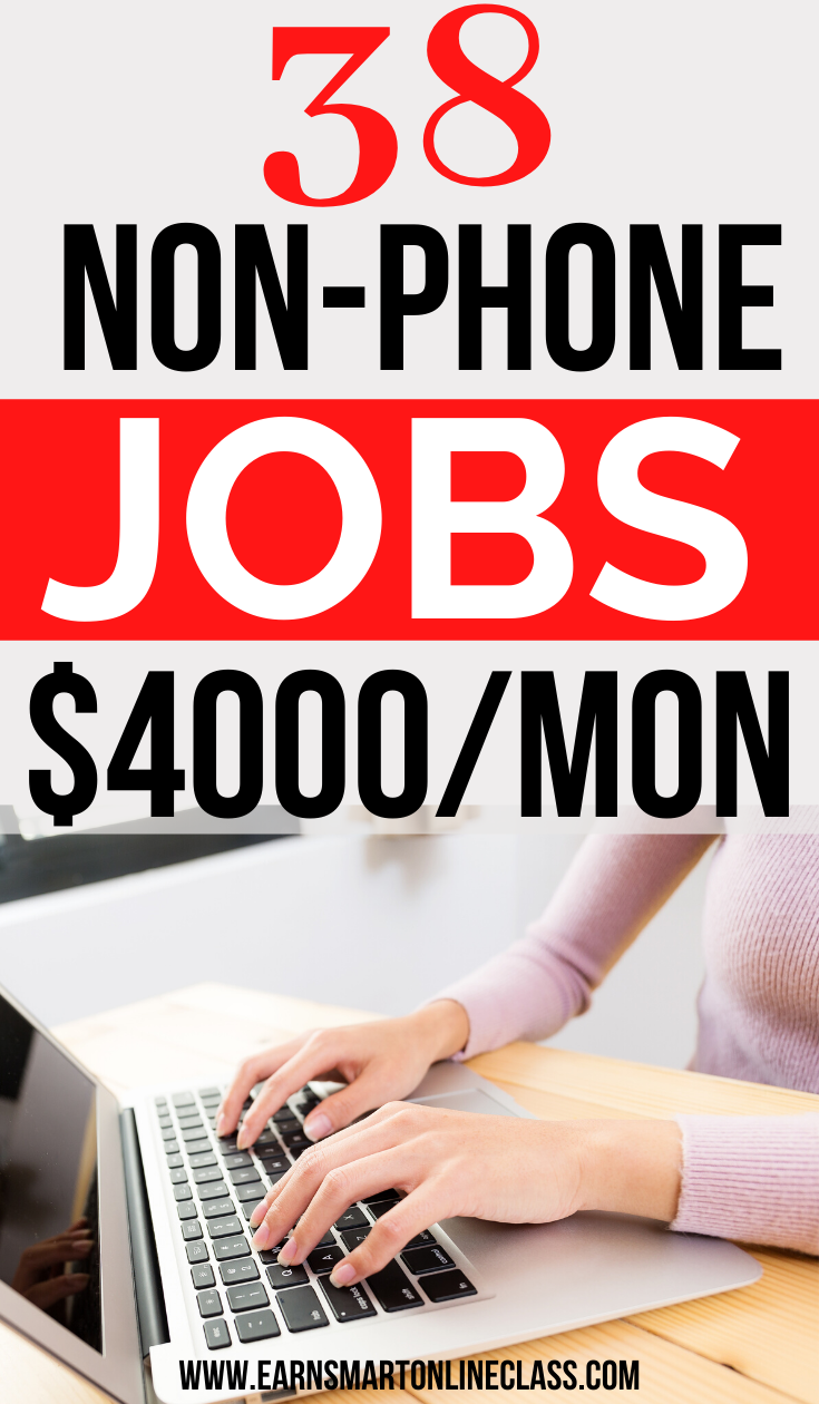 70+ Non-Phone Work From Home Jobs Hiring Now