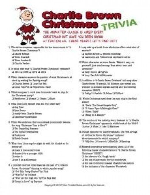 Christmas Trivia Games | Conejo