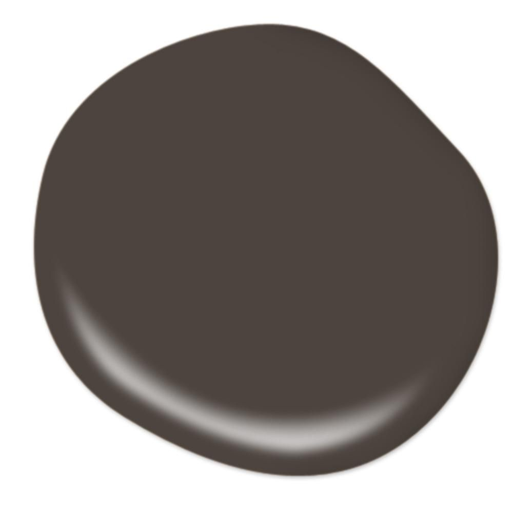 Behr Ultra 1 Qt Ppu5 01 Espresso Beans Extra Durable Semi Gloss Enamel Interior Paint Primer 375304 The Home Depot In 2021 Interior Paint Black Paint Color Exterior Paint