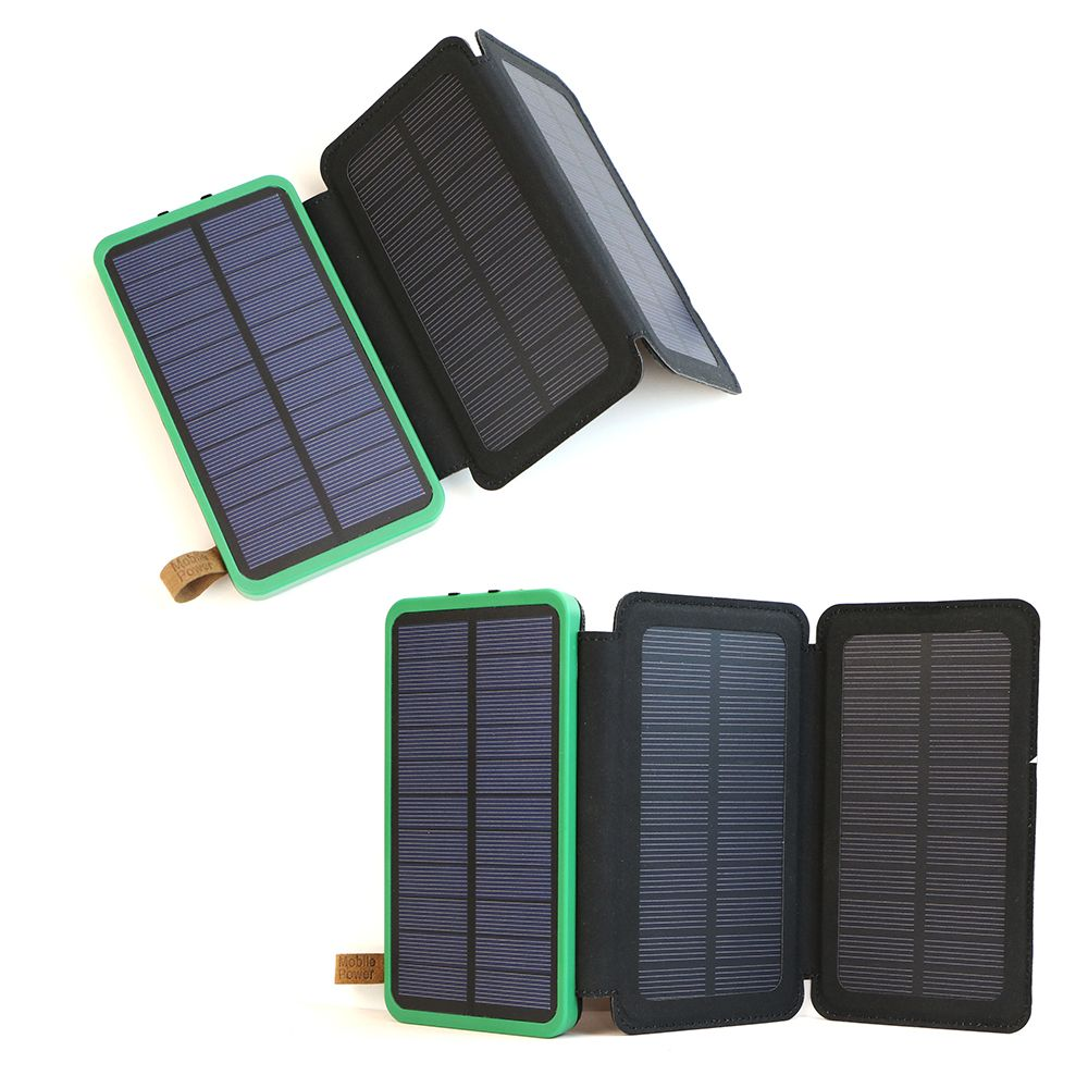 Solar Panel Power Bank Check Price 10000mah Battery Charging Rechargeable External Max 36w