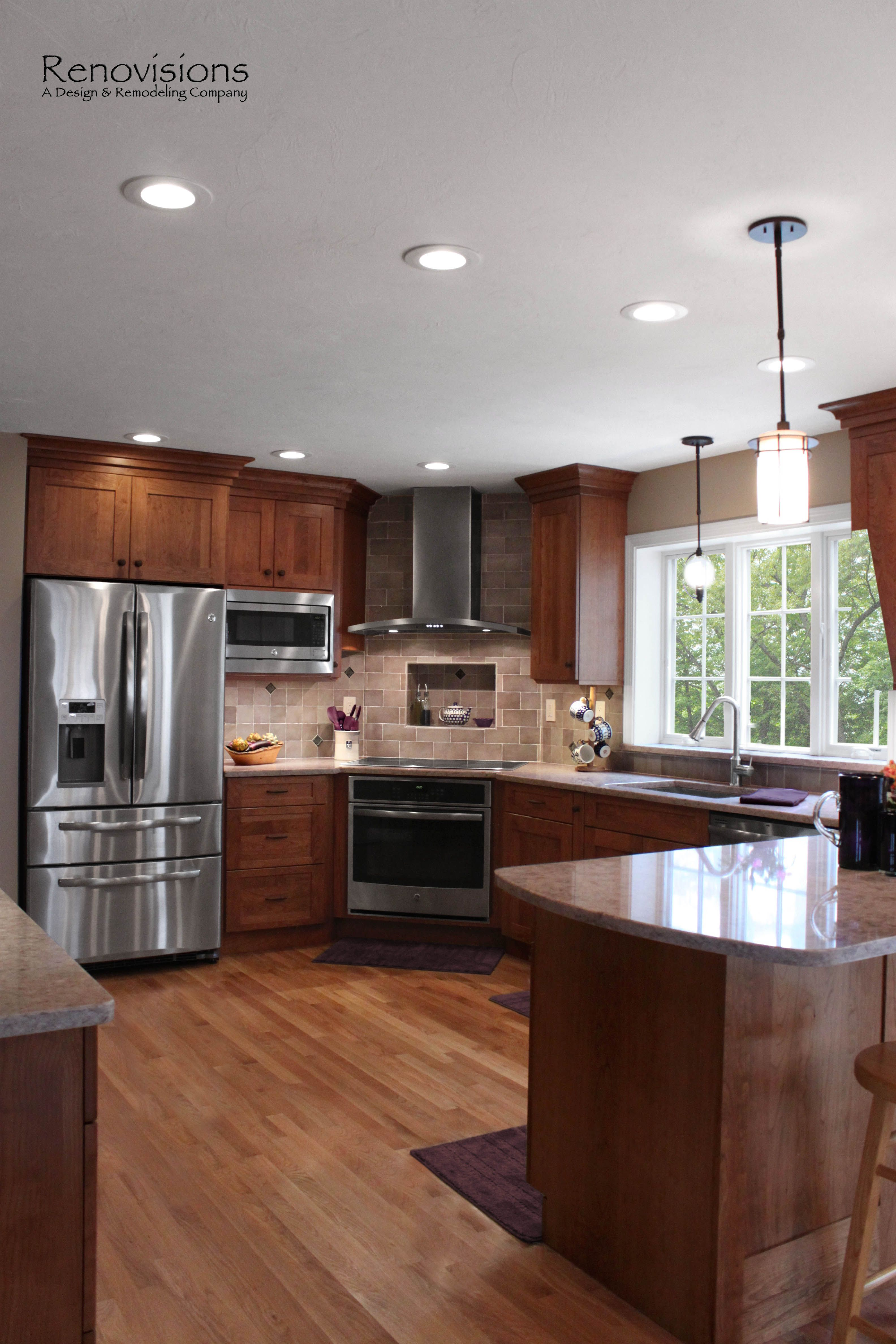 Renovating Kitchens Kitchen Remodel By Renovisions Induction Cooktop Stainless Steel